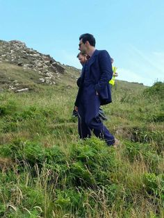 Aidan during the filming of Then There Were None, Cornwall, July 2015