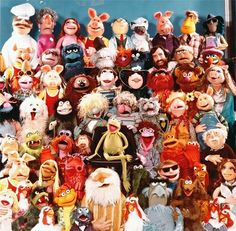 The Muppets from the original Muppet Show