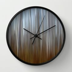 In to the trees.. Wall Clock