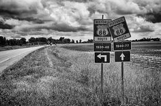 Different Alignments -  Route 66 Illinois