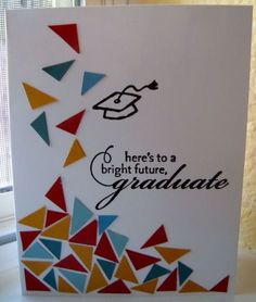 CAS Confetti Graduate by ruby-heartedmom - Cards and Paper Crafts at Splitcoaststampers