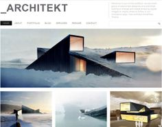 Mountain Hill Cabin by Fantastic Norway. Norwegian architects Fantastic Norway have designed a mountain lodge with a sloping roof that you can ski over. Gothic Architecture, Sustainable Architecture, Amazing Architecture, Architecture Design, Scandinavian Architecture, Architecture Portfolio, Design Hotel, Site Portfolio, Portfolio Layout