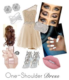 """Possibly for Prom!"" by ruppert-anna ❤ liked on Polyvore featuring Giuseppe Zanotti, Effy Jewelry, La Regale, Viktor & Rolf and Lime Crime"