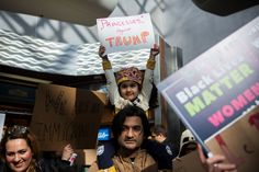 The Trump administration showed no sign Sunday of backing down from an executive order that bans entry to the United States from refugees, migrants and even green-card holders from seven mostly Muslim countries — even as lawmakers from both parties spoke out against the action and federal judges ruled against parts of it.
