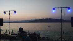 Greece Wedding, Dj, Celestial, Sunset, Outdoor, Sunsets, Outdoors, Wedding In Greece, Outdoor Games
