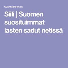 Siili | Suomen suosituimmat lasten sadut netissä