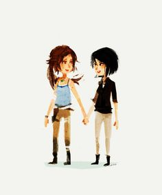 Lara and Sam by spicyroll.deviantart.com on @deviantART#tombraider