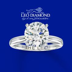 Every Kiss Begins With Kay <3  14K White Gold 3 Carat. This is my kind of ring! (: