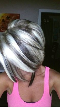 stunning blonde hair color ideas for summer 2019 - # stunning . - stunning blonde hair color ideas for summer 2019 – # Breathtaking - Summer Hairstyles, Cool Hairstyles, Short Gray Hairstyles, Grey Haircuts, Hairdos, Pelo Color Plata, Gray Hair Highlights, Platinum Highlights, Heavy Highlights