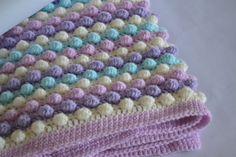 Custom Listing For Mary O'Brien Crochet Bobble Blanket