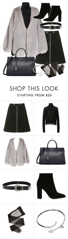 """""""Untitled #19491"""" by florencia95 ❤ liked on Polyvore featuring Topshop, TIBI, Yves Saint Laurent, B-Low the Belt, Gianvito Rossi, Cartier, women's clothing, women's fashion, women and female"""