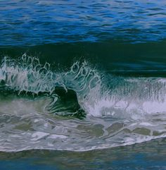 Mandy Lake, Surge, oil on canvas, 2012 Lake Painting, Oil On Canvas, Waves, Paintings, Gallery, Outdoor, Art, Outdoors, Art Background