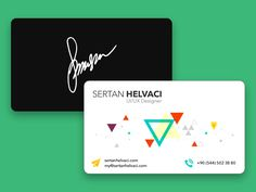 47 Creative Personal Business Cards of Designers | iBrandStudio