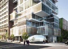 its my dream to live in 56 leonard street by herzog & de meuron in tribeca...maybe one day