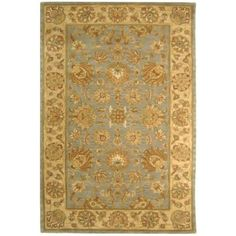Safavieh Heritage HG343B Blue Area Rug   http://www.arearugstyles.com/safavieh-heritage-hg343b-blue-area-rug.html