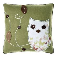 FELT CRAFT CUSHION OWL