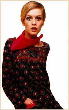 British model Twiggy
