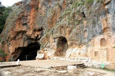 The grotto of Pan & the rock face of the mountain - imposing visuals as Jesus declared Himself the Rock on which the church would be built & that the gates of Hell would never prevail against it. (Gates of Hell: think of a Grotto into which a sacrifice would be thrown, which would then be pulled down by the current, into the earth, not to rise again). This would have driven home Jesus' claim of authority and power. Matthew 16:13-23