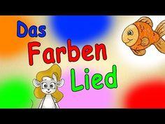Farben lernen für kleinkinder deutsch - Das Farbenlied - lerne die Farben kennen - german color song - YouTube
