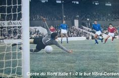 North Korea 1 Italy 0 in 1966 at Ayresome Park. The goal that stunned football as Italy lose to the minnows in Group 4 at the World Cup Finals.