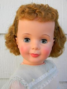1960's Baby Face Patti Play Pal Walking Doll -35 inches tall- Cutie!!