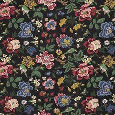 Textil Pomegranate Tree Lin | Svenskt Tenn