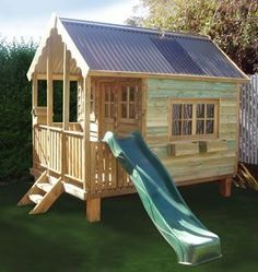 Wonder if I can get hubby to make this #playhouseideas #outsideplayhouse