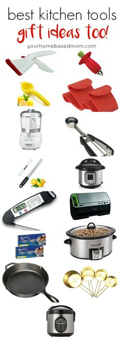 If you are looking for some gift ideas for yourself or the person on your list who likes to cook this is the place.  These kitchen gadgets, tools and items range in price from expensive to inexpensive.  Some of them would make perfect stocking stuffers too.