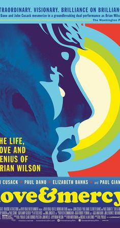Directed by Bill Pohlad.  With John Cusack, Paul Dano, Elizabeth Banks, Paul Giamatti. In the 1960s, Beach Boys leader Brian Wilson struggles with emerging psychosis as he attempts to craft his avant-garde pop masterpiece. In the 1980s, he is a broken, confused man under the 24-hour watch of shady therapist Dr. Eugene Landy.