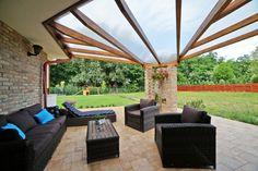 Referenciák   kulcsrakészház.hu Pergola, House Design, Patio, Outdoor Decor, Modern, Home Decor, House, Trendy Tree, Decoration Home