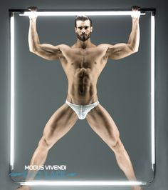A new, limited edition, men's underwear line has just been released by Modus Vivendi. The new line is called Geo Lace and is made from a semi-transparent, made in France, fabric with printed … Greek Fashion, Underwear Brands, Men's Underwear, Men's Fashion Brands, Swimwear Brands, Keep Fit, Hottest Pic, Man Photo, Male Body