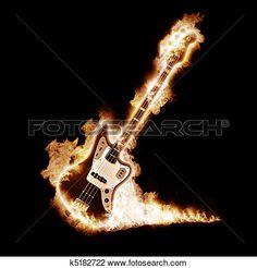 US Clash Mini Guitar Keyring /& Pick