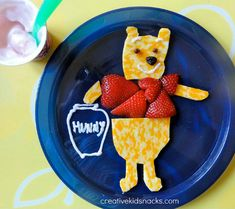 Winnie the Pooh snack plate!