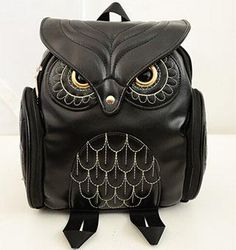 This sold fast the last time we had this in stock now it is back again Women PU Leather ... Check it out here ! http://mamirsexpress.com/products/women-pu-leather-owl-backpack?utm_campaign=social_autopilot&utm_source=pin&utm_medium=pin