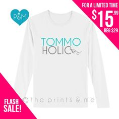 Louis Tomlinson  TOMMOHOLIC  One Direction by ThePrintsandMeShop