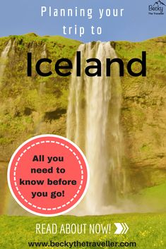 Planning a trip to Iceland? Here the guide for everything you need to know before you go. Includes planning tips for what to wear, how much money to take, what the weather in Iceland is like. All you need to know before you go to Iceland! | Trips to Iceland | Iceland travel | Planning a trip to Iceland | #Iceland