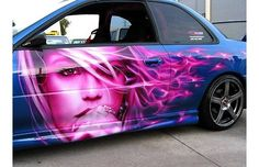 airbrush art | Tags: airbrush , art-cars