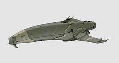 Spaceship doodle, Mikko Kautto on ArtStation at https://www.artstation.com/artwork/spaceship-doodle