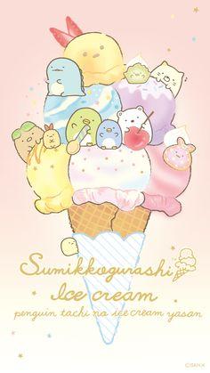 Summiko Gurashi Eating Ice-Cream