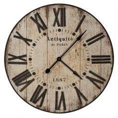 Antiquité Wall Clock- Urban Barn