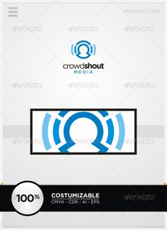 Crowdshout Media Logo Template
