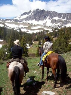 Montana is one on my list of places I've always wanted to spend time exploring by horseback.