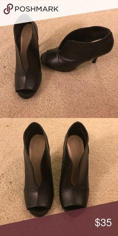 Black bike west booties Black Nike wear booties Nine West Shoes Ankle Boots & Booties