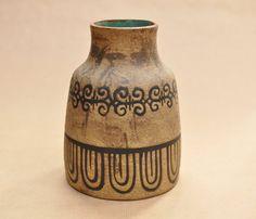 Ceramano Etrusca vase - West German  Hans Welling - 1950s - 1960s -
