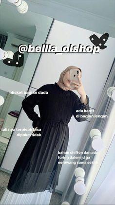 Workwear Fashion, Abaya Fashion, Muslim Fashion, Fashion Outfits, Casual Hijab Outfit, Ootd Hijab, Online Shop Baju, Hijab Fashion Summer, Kebaya Dress