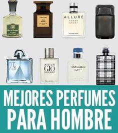 Los 10 mejores perfumes para hombre del 2017 que SÍ nos gustan y los mejores fragancias según las mujeres. Mejor perfume de hombre para ti o para regalar