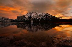 """""""FIRE LAKE"""" by James Fougere"""