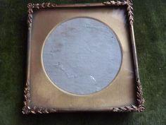 Antique  Victorian small glided decorative picture frame Rocco style