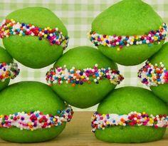 Green Whoopie Pies