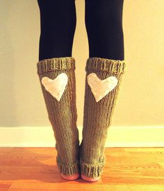 Leg Warmers Knit Tan White Heart Valentines Day Teen Leggings Womens Ladies Adult Crochet on Etsy, $54.00